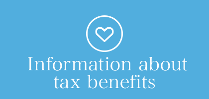 Information about tax benefits